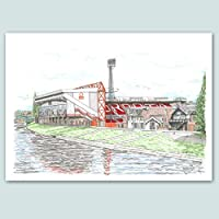 Nottingham Forest, The City Ground Stadium Limited Edition Print