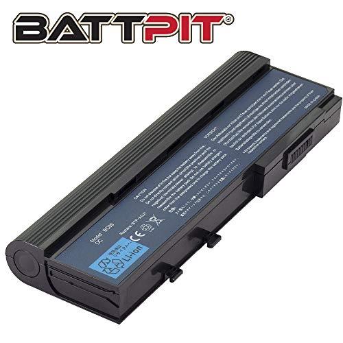 Battpit Laptop Akku für Acer BTP-ARJ1 BTP-AQJ1 GARDA31 GARDA32 GARDA53 TM07A72 Aspire 2920 2920Z 5560 Extensa 4220 4230 4620Z 4630Z TravelMate 3300 6292 eMachines D620 - [9 Zellen/6600mAh/73Wh]