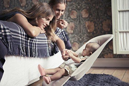 Imagen para BABYBJÖRN - Hamaca con balanceo natural para bebé Balance Soft Beige/grey