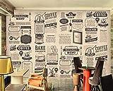 3D Fototapete Essen Vlies Wandtapete hochwertig wasserbeständiger Moderne Wanddeko Tapete 3D Hintergrundwand, Wandbild dekorative Malerei 350 cm (B) * 250cm (H) 7 Streifen (Kein Kleber)