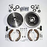 Bremstrommeln/Bremsen Set + Zubehör hinten