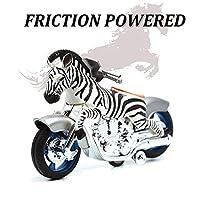 BigNoseDeer Dinosaur toys animal friction motorcycles toys