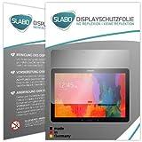 Slabo 2 x Bildschirmschutzfolie kompatibel mit Samsung Galaxy Note Pro P900 | P905 (12.2 Zoll) Bildschirmschutz Schutzfolie Folie No Reflexion | Keine Reflektion MATT