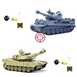 RC PANZER SET GERMAN LEOPARD 2 A5 : 2 x