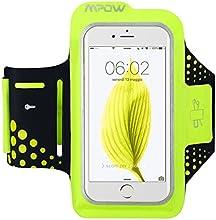 Mpow - Cinta deportiva de brazo Sweatproof, brazalete para correr y hacer deporte con soporte para llave y reflectante, para iPhone 7, 6, 6s, Samsung