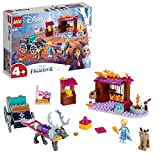 LEGO 41166 Disney Frozen II Elsa's Wagon Adventure with Princess Elsa Mini Doll and 2 Reindeer Figures, Easy Build Preschool Toy for 4-7 Years Old with Bricks Base Plate