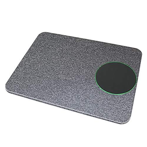 Altsommer Maus Pad Desktop, QI 2 in 1 Kabelloses Lade Maus Pad Desktop Ladegerät für Maus