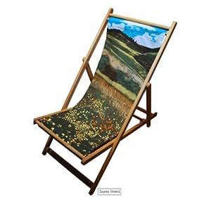 Santa fe champs transat mobilier de jardin chaise for Mobilier jardin transat