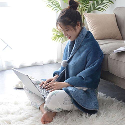 Bettwaren & Bettwäsche Coral Samt faul Decke Sofa Mittagspause Auto Schal Cape Mantel Absatz kleine Decke hohe Qualität und kostengünstige handgemachte Exquisite Verpackung