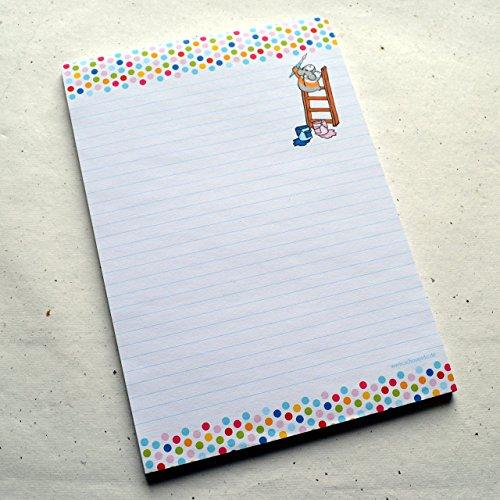 Schreibblock Briefblock DIN A5 Meerschweinchen