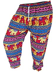 by soljo - Pantalon pantalons de loisirs sportifs pantalon Elephant colore