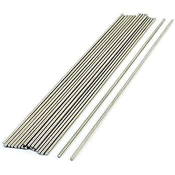 QTY x 1 RC Air plane 2mm x 300mm Stainless Steel Round Rod Model Cars etc Remote