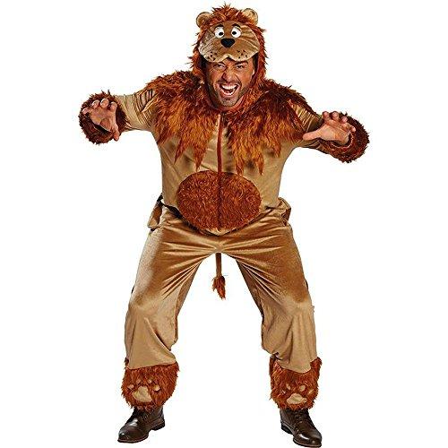 Rubie's Herren Kostüm Löwe Overall Löwenkostüm Karneval Fasching Gr.L