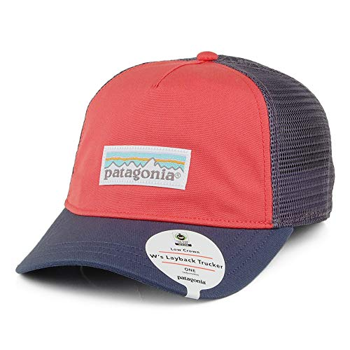 Patagonia W's Pastel P-6 Label Layback Trucker Hat