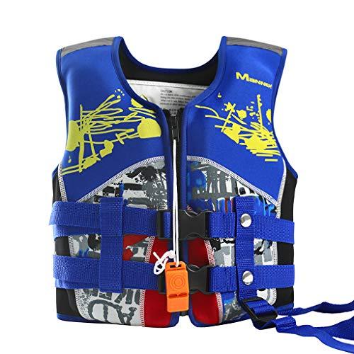 5fb80d0a8708 Giacca da Nuoto per Bimba Bimbo - Giubbotto Nuoto Gilet Galleggiante per  Bambino Bambina Imparare a