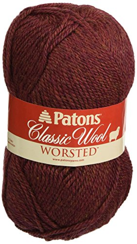 Classic Wool Yarn-Cognac Heather/ Sold as a pack of 5 (Pack Cognac)
