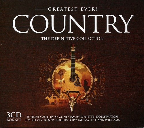 VA - Greatest Ever Country  The Definitive Collection - (GTSTCD014) - BOXSET - 3CD - FLAC - 2006 - WRE Download