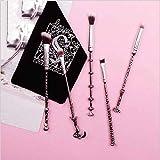 Make Up Pinsel Make Up Pinsel Set Der Kosmetikpinsel 5 SchöNes MäDchen Krieger Make-Up Pinsel Griff Aus Metall Vielzahl Sakura Beauty-Werkzeugsatz