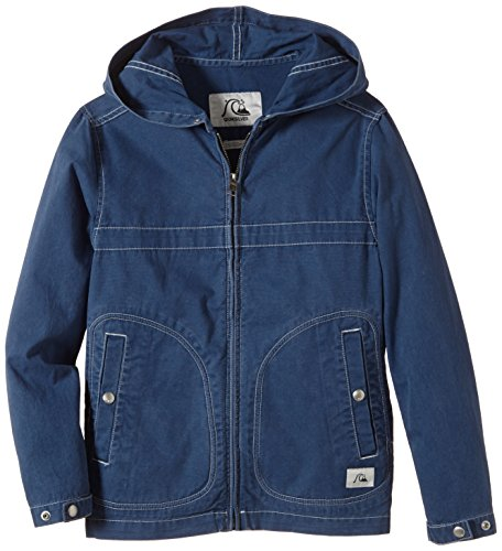 Quiksilver - Parka Ragazzo warwich Youth B Jacket, Ragazzo, Parka Warwich Youth B Jacket, denim scuro, M