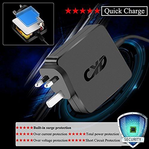 CYD 45W Laptop-Charger for Lenovo Yoga 13 Flex E431 E440 E450 E531 E540 E550 E555 E560 G500 G505 G510 G410 L440 L450 L540 T431s T440 T450 T540 T550 X240 X250 S431; IdeaPad S210 S500 S510p U330 U430