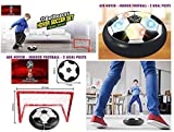 Pacificdeals Magic Air Hover Football Toy Indoor Play Game - with 2 Goal
