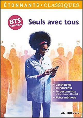 Seuls avec tous : Programme BTS 2019-2020