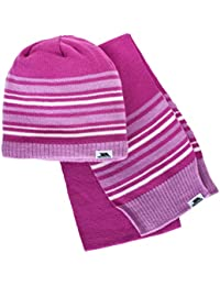 Trespass Kids Hedgehog Hat and Scarf Set