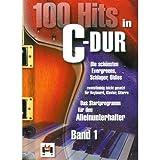 Hildner '100 Hits in C-Dur 1' für Klavier und Gitarre
