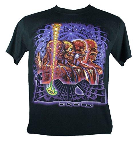 Tool-Maglietta da uomo nero 10000Days Large Size L