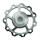 Lerway® Aluminium Jockey Wheel Rear Derailleur Pulley Guide Roller Idler SHIMANO SRAM 11T A-04 Ti 1pcs