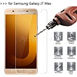 SWAG For Samsung Galaxy J7 MAX - SWAG Edge To Edge Full Front Body Cover 2.5D, 9H, Curved Tempered Glass Screen Protector Guard For Samsung Galaxy J7 MAX - Clear