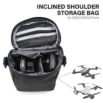 Goolsky Portable Carriage Bag for AOSENMA CG033 SG700 Drone Inclined Shoulder Storage Bag