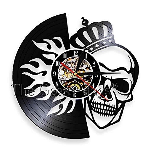 cord Wanduhr handgemachte Weihnachten Kunst Geschenk HalloweenDesign Room Decor Clock 12 Zoll ()