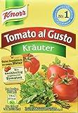 Knorr Tomato al Gusto Kräuter Soße, 8er-Pack (8 x 370 g)