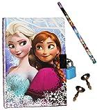 """Tagebuch mit Schloss - """" Disney die Eiskönigin - Frozen"""