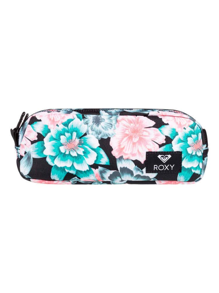ROXY Da Rock-Trousse Escolar para Mujer, Color Anthracite S Crystal Flower, tamaño Talla única