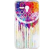 case cover para Alcatel One Touch Pop 3 5,5'',Crisant pintado Diseño Protección suave TPU Gel silicona Teléfono Celular Back funda Carcasa para Alcatel One Touch Pop 3 5,5''