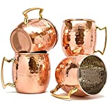 Best Moscow Mule Mugs - Hammered Moscow Mules mug 560 ML/18 oz Review
