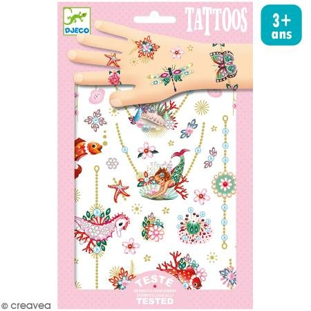 (Djeco - Body Art Tattoos Fionas Jewels)