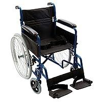 NRS Transit-Lite Lightweight Foldable Self Propelled Travel Wheelchair