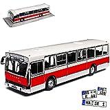 Jelcz PR 110U Bus Reisebus Weiss Rot 1/72 Modellcarsonline Modell Auto Modellcarsonline Modell Auto