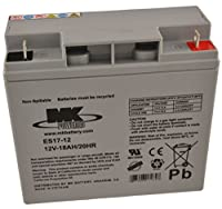 12V 18Ah MK Sealed Lead Acid (AGM) Mobility Scooter Battery