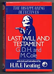 Last Will and Testament (Disappearing Detectives)
