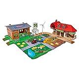 Majorette 212050006 - Creatix Farm Big Playset, Bauernhof-Spielzeugset, Maße: 75 x 57 x 20 cm