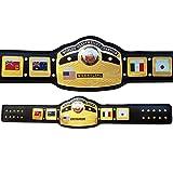 House of Highland 77 NWA Global World - Cintura da Campionato Pesante, Taglia Adulto