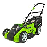 Greenworks Tools 2500007VC 40V, 40cm Akku-Rasenmäher inklusive 2 Akkus 2 Ah und Ladegerät