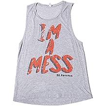 Ed Sheeran - Im A DESASTRE - Camiseta Tirantes Oficial Mujer (Camiseta)