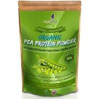 Proteina Organica in Polvere PEA Insapore NutriZing ~ 80% Proteina Essenziale ~ Elevata Qualità ~ Oltre 30 porzioni & 1 mese di rifornimento ~ Il Meglio Per Vegetariani e Vegani ~ Aiuta la Costruzione Muscolare ~ Senza Soia & Glutine ~ Astuccio da 1kg ~ Per Uomini & Donne Organic