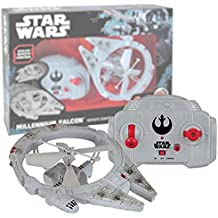 MTW Toys 13412Remote-Controlled Flying Millennium Falcon, approx. 21cm
