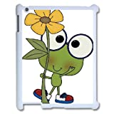 Funny Frog iPad 2/3/4 Case, Sabcase Funny Frog Personalized Hard Back Case for iPad 2/3/4